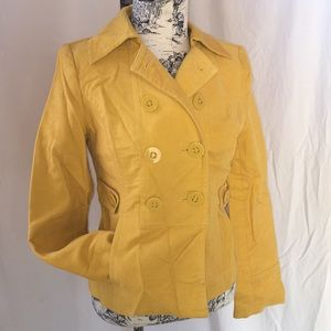 LOFT Gold Corduroy Jacket